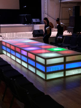 Lighted Catwalk Rental - Miami
