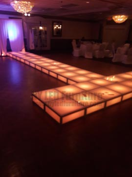 LED Fashion Show Runway Rental