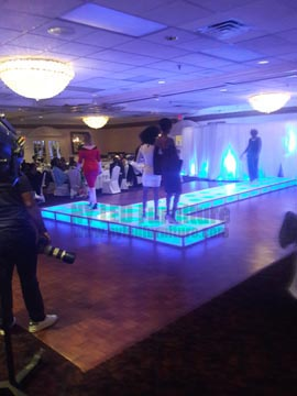 LED Floor Rental