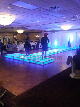Illuminated Stage Rental
