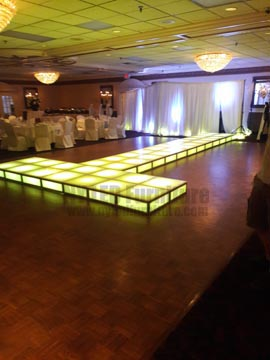 Light Up Runway Rental