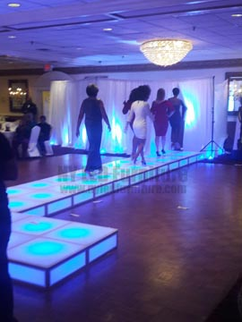 Lighted Floor Rental