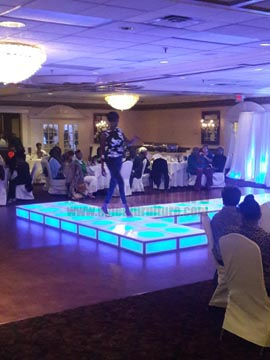 Lighted Stage Rental
