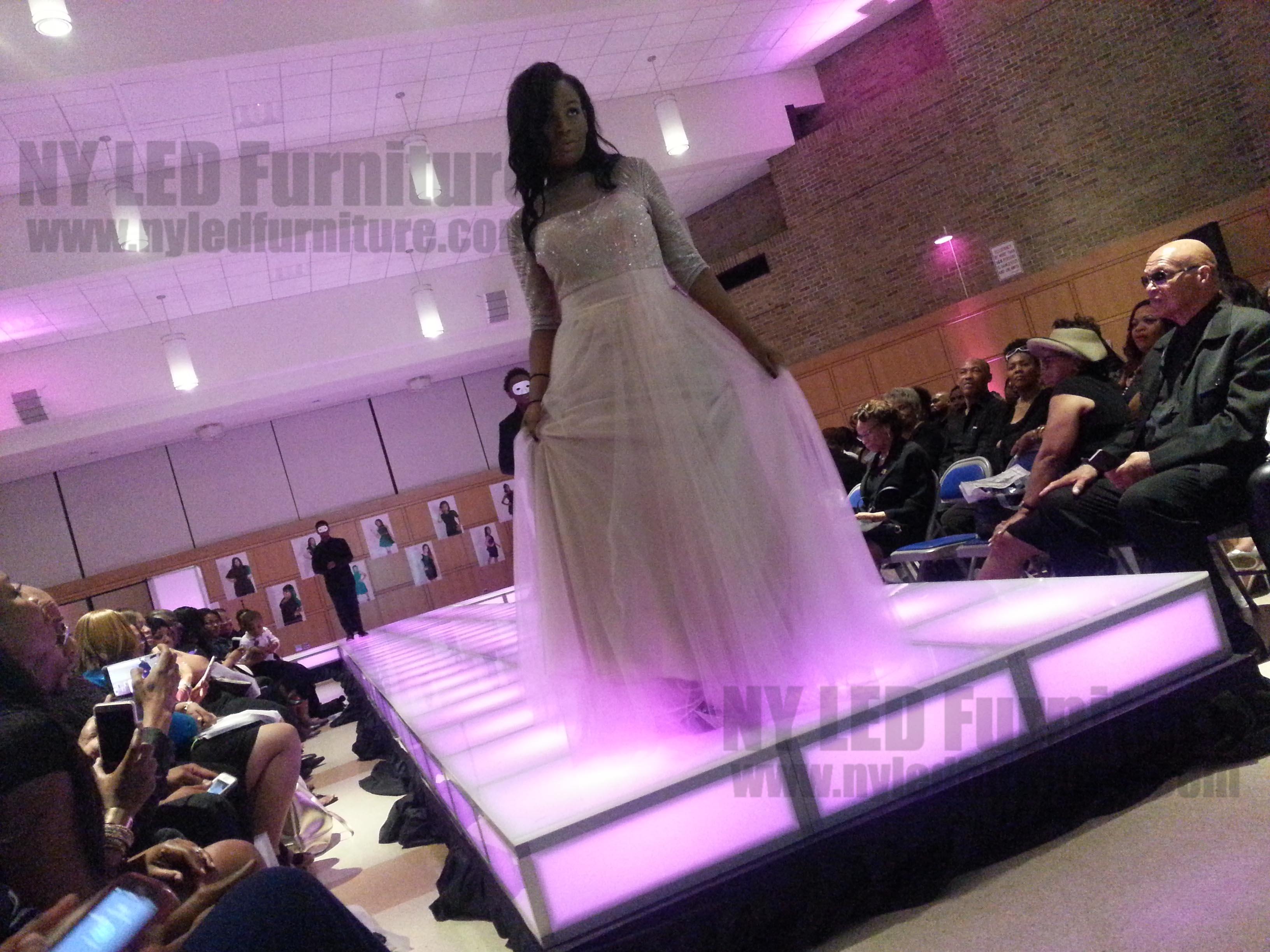 Lighted Catwalk Rental - Hofstra College - Hempstead - NY