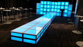 Light Up Stage Rental PA