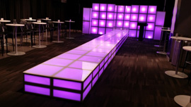 Lighted Stage Rental PA